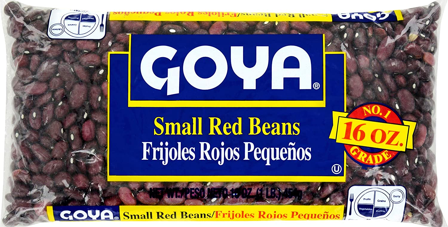 Goya Small Red Beans, 16oz bag