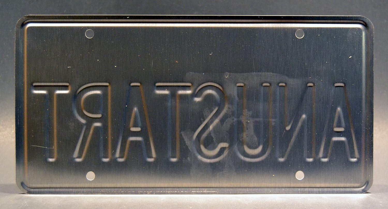 Arrested Development Tobias Funke/'s Cabriolet Metal Stamped Vanity Prop License Plate Celebrity Machines ANUSTART