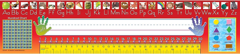 Teacher Created Resources Traditional Printing Jumbo Name Plates (4311)