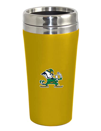 Design-3 Blue The Fanatic Group Notre Dame Double Walled Soft Touch Tumbler