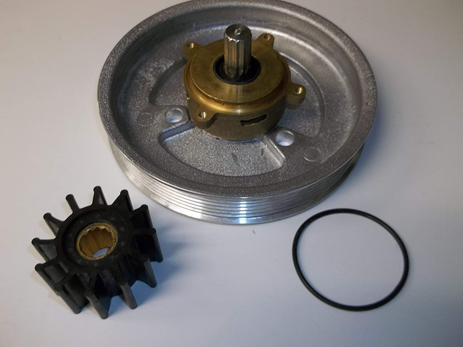 New crank mounted impeller raw sea water pump for Volvo Penta 4.3 GL 5.0 5.7,