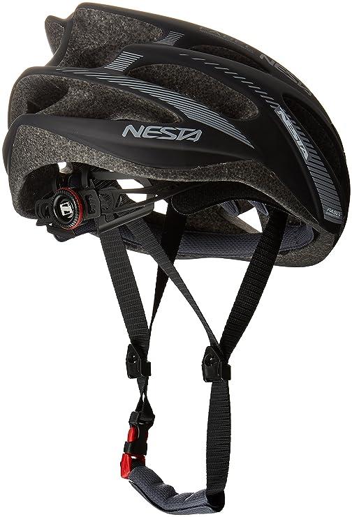 Nesta Fabel Aero Casco de Ciclismo, Unisex Adulto, Negro Mate, Talla Única: Amazon.es: Deportes y aire libre