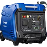 Westinghouse iGen4500 Super Quiet Portable Inverter Generator 3700 Rated & 4500 Peak Watts, Gas Powered, Electric Start…