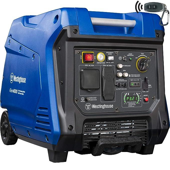 Best Generators for RV : Westinghouse iGen4500 Portable Inverter Generator
