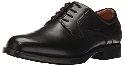 Florsheim Men's Medfield Plain Toe Oxford Dress Shoe, Black, ...