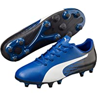 PUMA Boys Evospeed 17.5 Fg Jr Tb, Blue, Football Boots