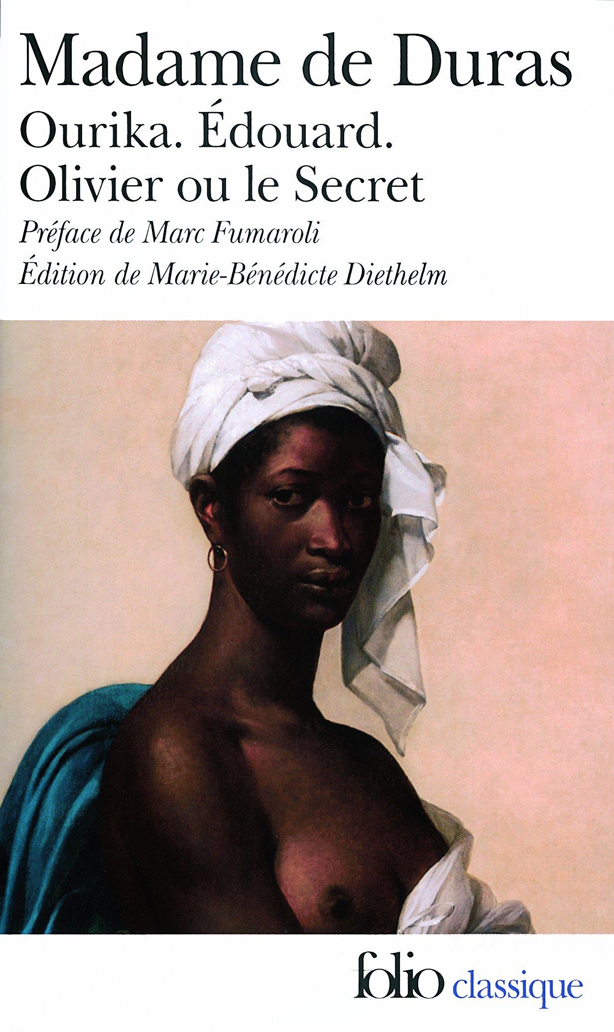 Ourika - Édouard - Olivier ou le Secret (Folio (Gallimard)) (French Edition) pdf epub