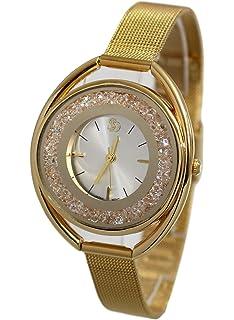 b1460f173619 Ernest Dolce Vita - Estuche con reloj decorado con bisuteria rosa ...