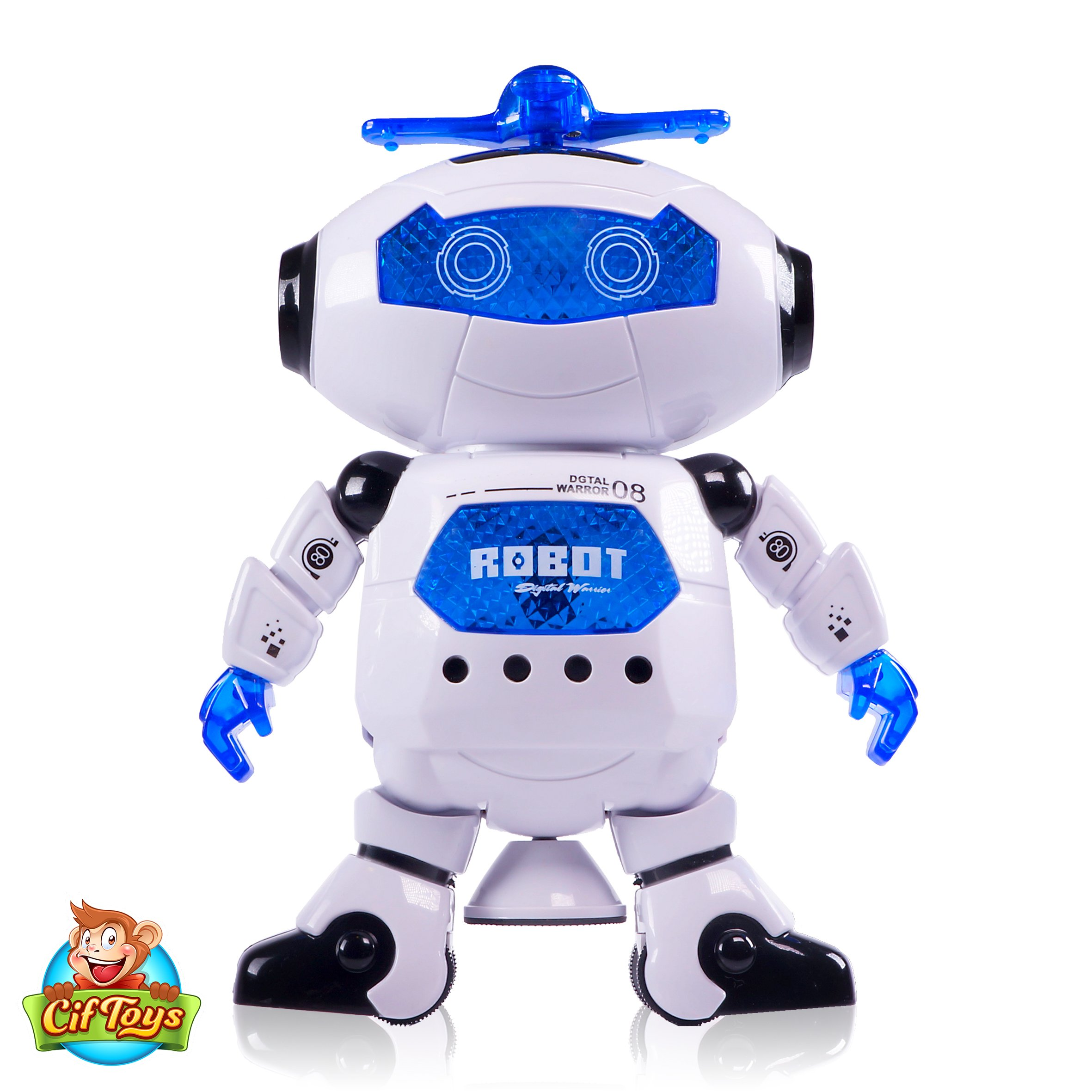 Boys Toys Electronic Walking Dancing Robot Toy - Toddler Toys - Best Gift for Boys and Girls 3 years old by CifToys (Image #5)