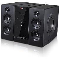 LG DM2740.DMEXCLK Microcomponente Baja potencia 160W RMS, Bluetooth, USB, DVD