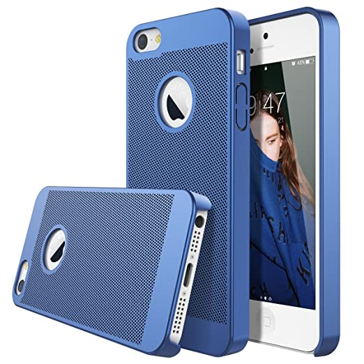 2 opinioni per Dexnor Cover iPhone 5 5S SE Rigida Custodia Honeycomb Ultra Slim Matte Opaco