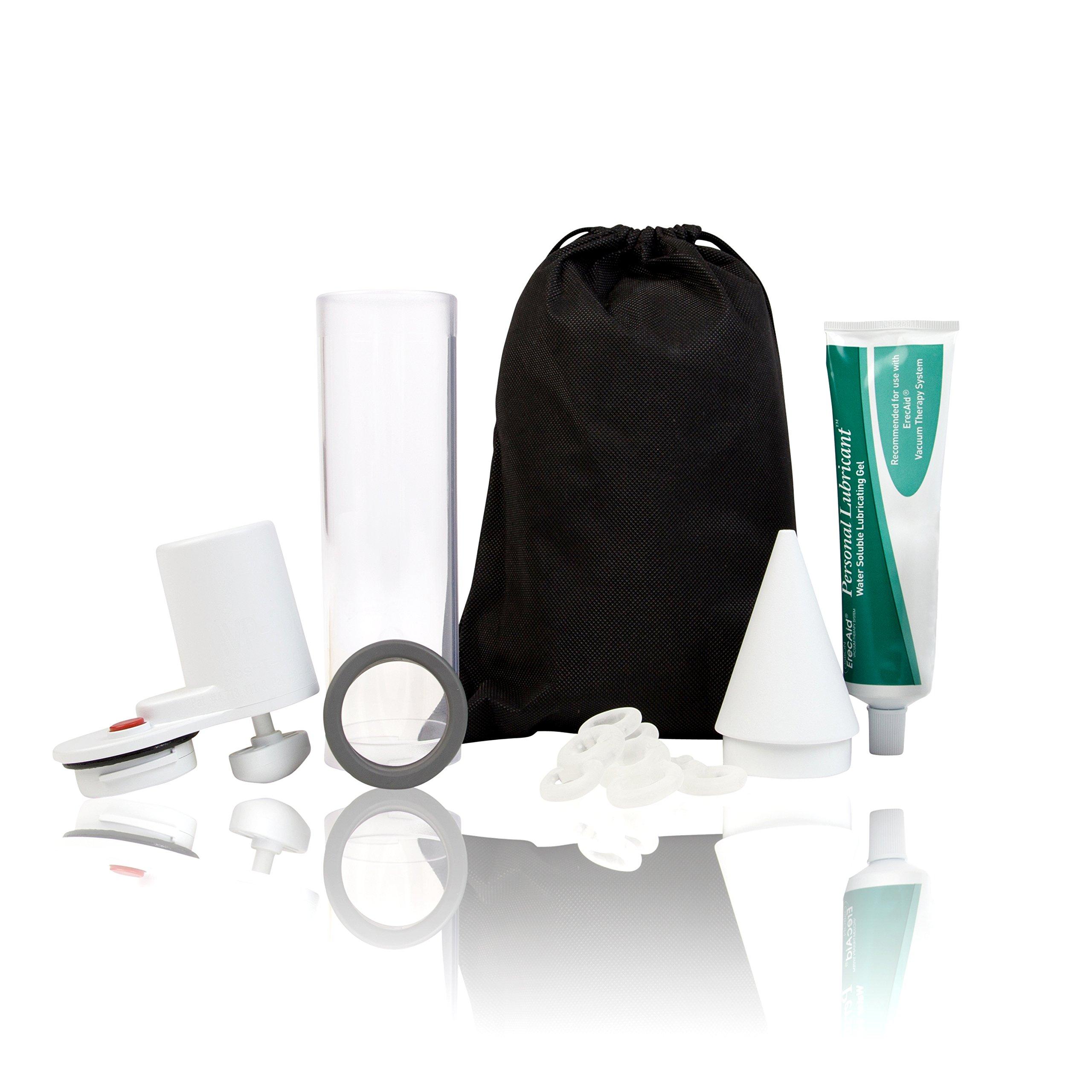 Vacuum Pump for Men, Natural Alternative to Erectile Dysfunction Pills, Manual Penis Pump, Men's Pump Kit for Erectile Dysfunction - Pos-T-Vac, Ultra Max Erectile Dysfunction Pump by POS-T-VAC