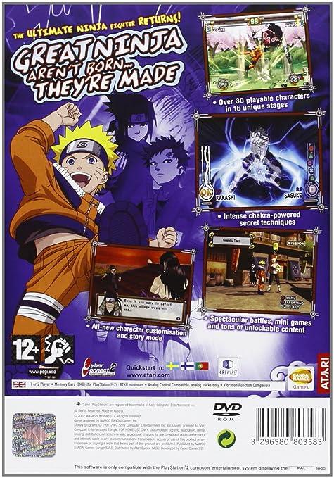 Naruto: Ultimate Ninja 2 [Importación Inglesa]: Amazon.es ...