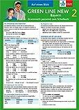 Green Line New Bayern 2 - Auf einen Blick: Grammatik passend zum Schulbuch - Klappkarte (6 Seiten)