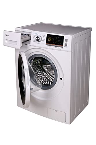 midea MFL70-D1211S 2.0 cu. ft. Front Loading Washer and Dryer Combo, White
