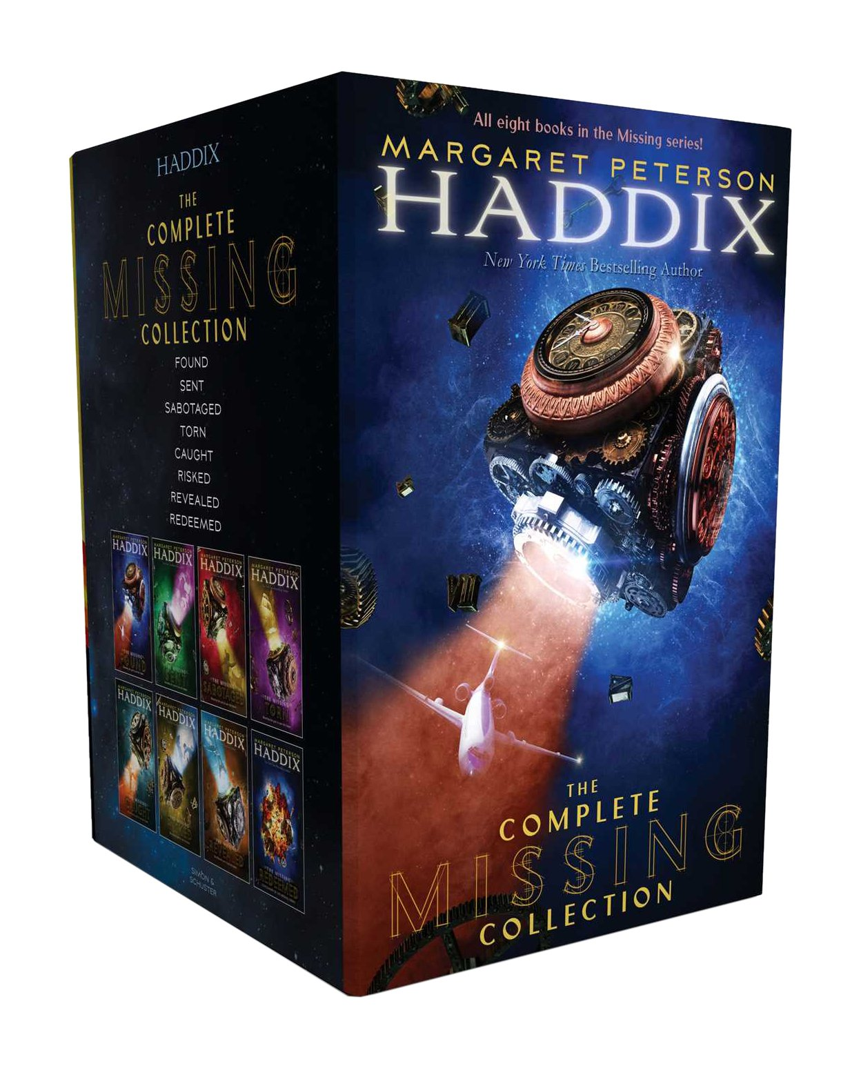 The Complete Missing Collection: Found; Sent; Sabotaged; Torn; Caught; Risked; Revealed; Redeemed (The Missing) by Simon & Schuster Books for Young Readers