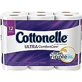 Cottonelle Ultra ComfortCare Big Roll Toilet Paper, Bath Tissue, 12 Toilet Paper Rolls