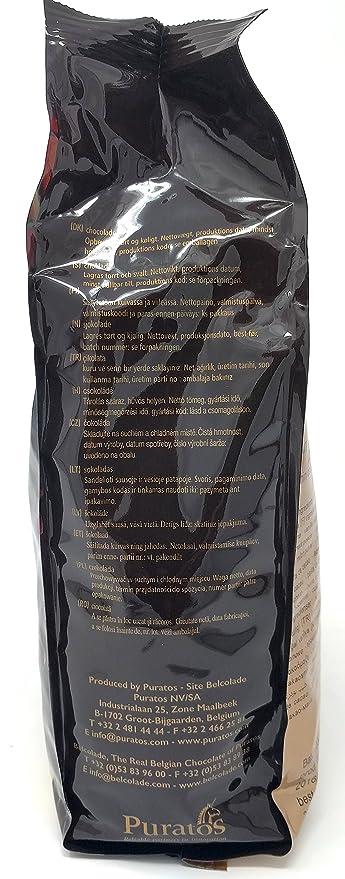 Belcolade 45% Vietnam pepitas de Chocolate con Leche 1kg: Amazon.es: Alimentación y bebidas