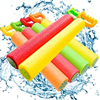 ToyerBee Water Gun, 6 Pack Water Guns for Kids-Pool Toys-Shoots Up to 35 Ft, Water Blaster Squirt, Water Cannon for 4.5…
