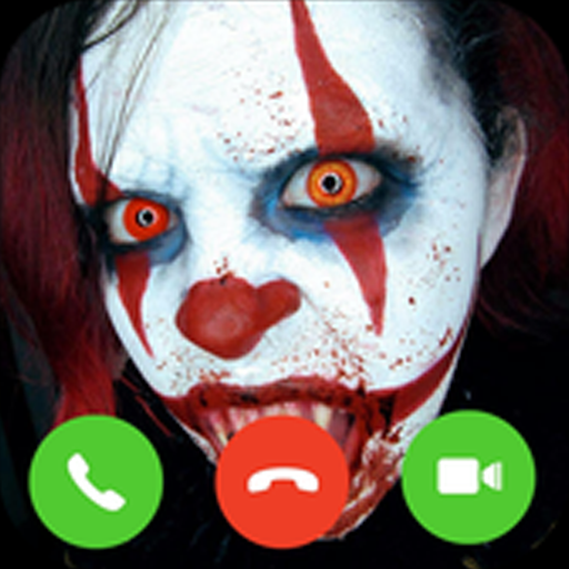 Amazon Com Video Call Scary Clown Appstore For Android