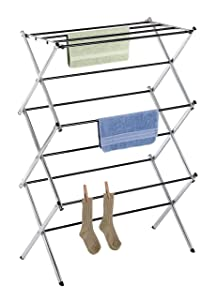 Whitmor Foldable Drying Racks - Chrome