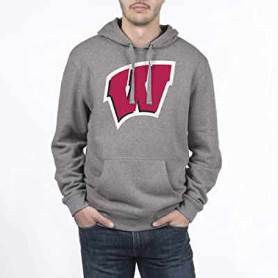 .com : Top of the World NCAA Mens Dark Heather Icon Touchdown Hoodie Sweatshirt : Sports & Outdoors