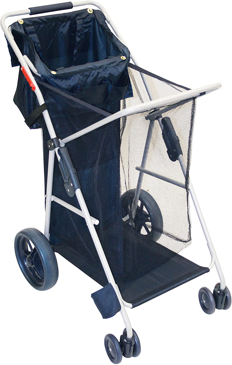 Rio Gear Deluxe Wonder Wheeler Folding Utility and Beach Cart, Navy