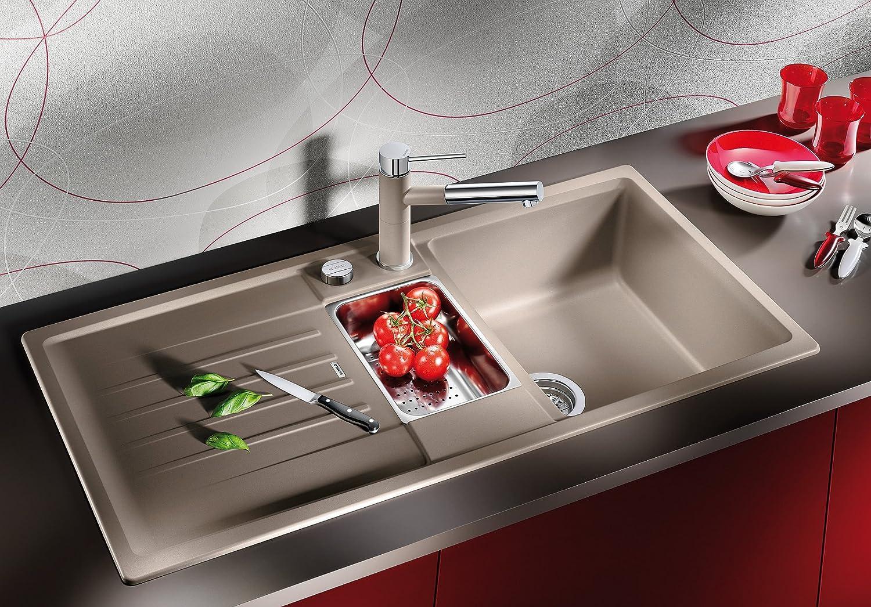 Blanco Lexa 6 S Küchenspüle, Silgranit PuraDur, Alumetallic, 514669:  Amazon.de: Baumarkt