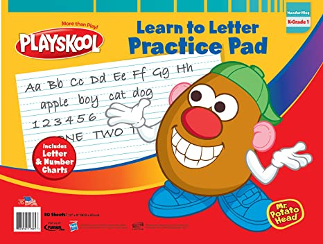 Amazon.com: Playskool ABC Learn To Letter Pad: Toys & Games