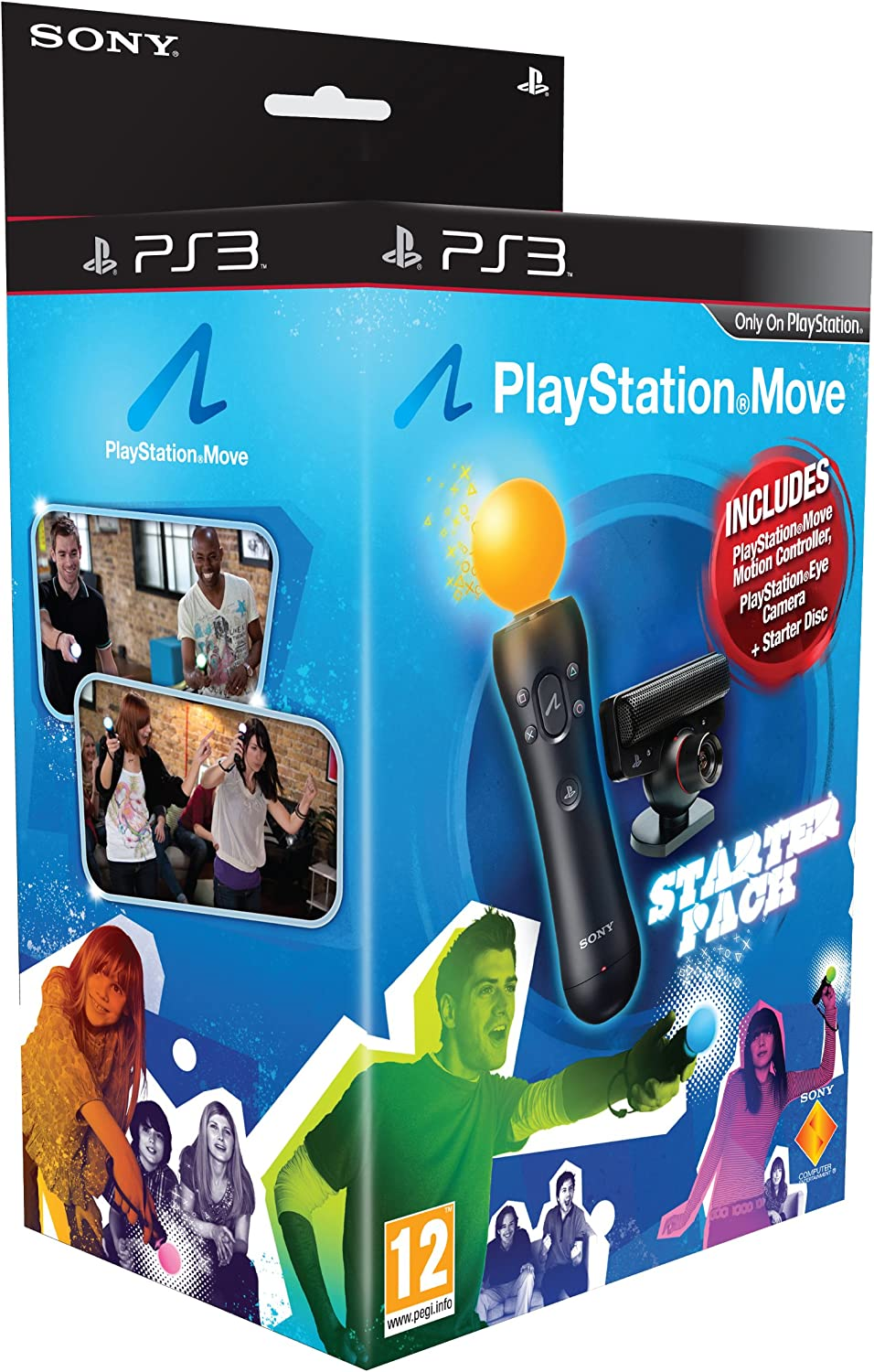 Import Anglais]PlayStation Move Starter Pack Includes Demo Disc (Blue Box) PS3: Amazon.es: Videojuegos