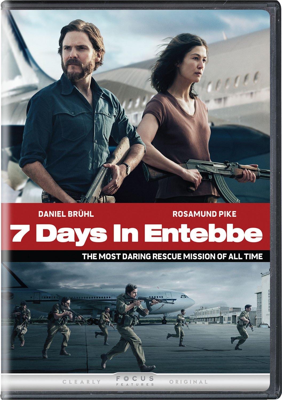 DVD : 7 Days In Entebbe (DVD)