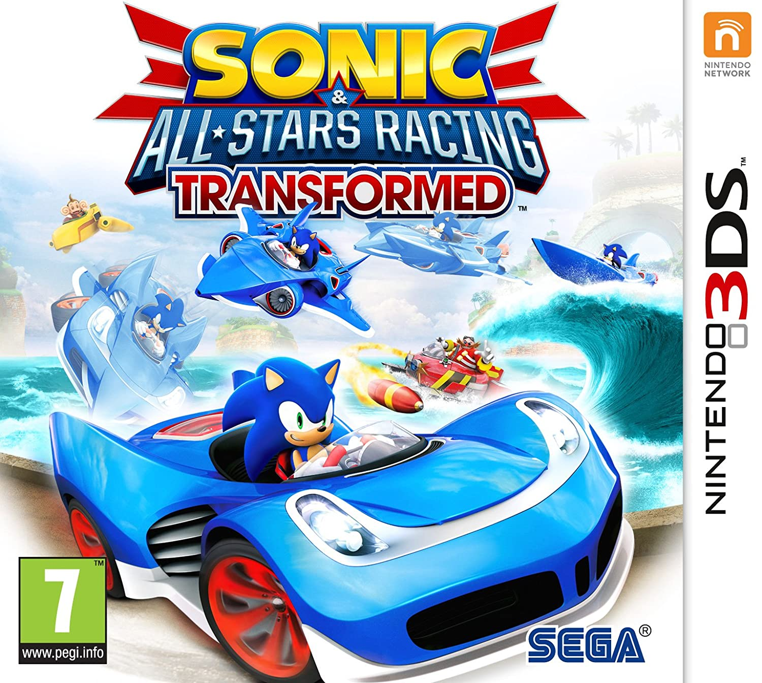 Sonic and All Stars Racing Transformed (Nintendo 3DS