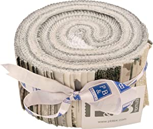 Jetty Home Forest Retreat Strips 40 2.5-inch Strips Jelly Roll P&B Textiles