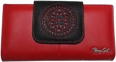 Billetera señora Piel España 18 cm Cartujana: Amazon.es: Zapatos y complementos
