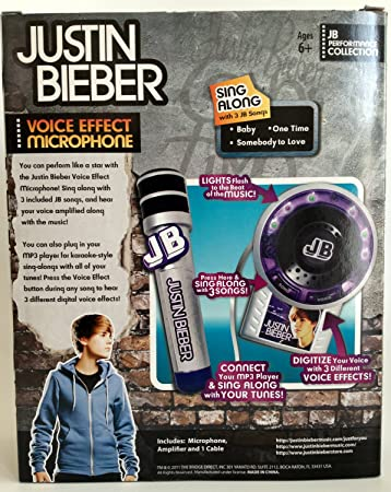 Justin Bieber Voice Effects Microphone with Amplifier: Amazon in