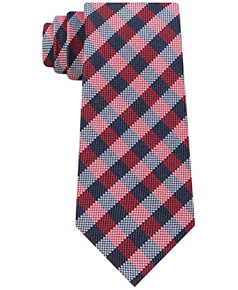Tommy Hilfiger - Corbata de seda para hombre, diseño de tartán ...