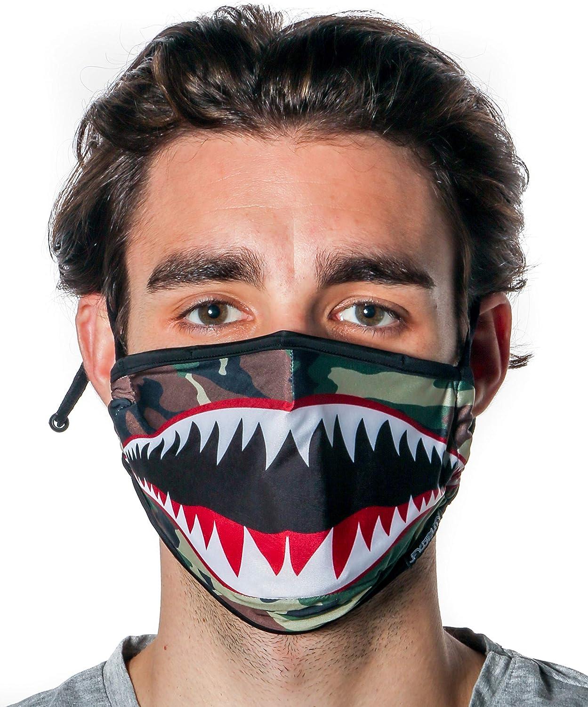 Fydelity-Breathable Face Mask Comfortable Fabric Cover Reusable:Rainbow Tye Dye