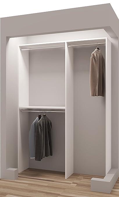 Exceptionnel Tidy Squares Demure Design 50u0026quot;W Closet System