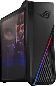ROG Strix GA15DH Gaming Desktop PC, AMD Ryzen 5 3600X, GeForce GTX 1660 Super, 8GB DDR4 RAM, 256GB SSD + 1TB HDD, Wi-Fi 5, Windows 10 Home, GA15DH-BS562