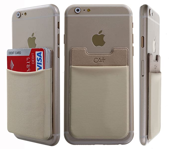 buy online 2a628 68c1f CaseArtPlus Attach-On Wallet function as iPhone Wallet Case, iPhone Credit  Card ID Case with a card holder Attach on iPhone or iPhone Case, All ...