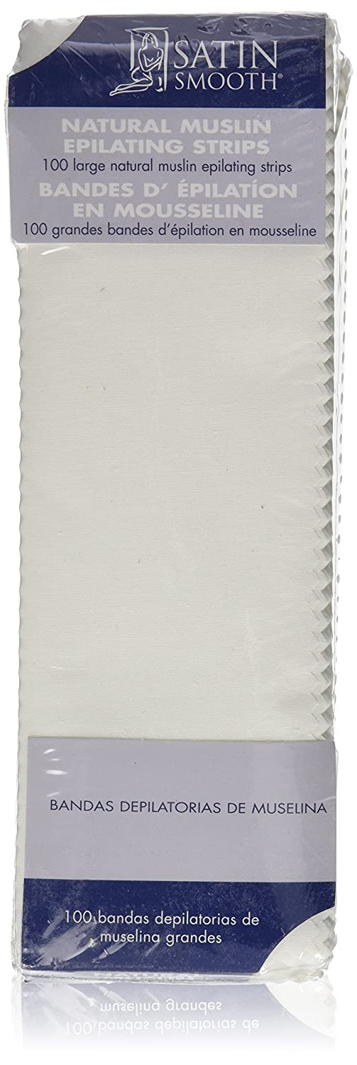 SATIN SMOOTH Muslin Epilating Strips, Large