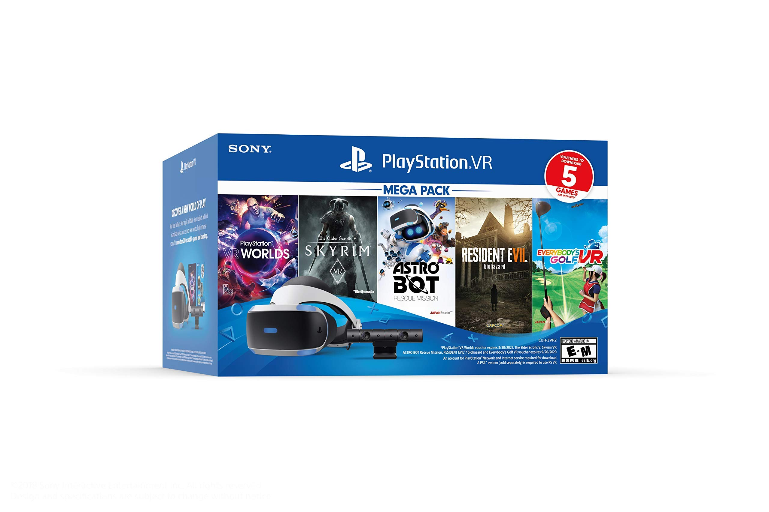 PlayStation VR – Astro Bot Rescue Mission + Moss Bundle (Renewed)