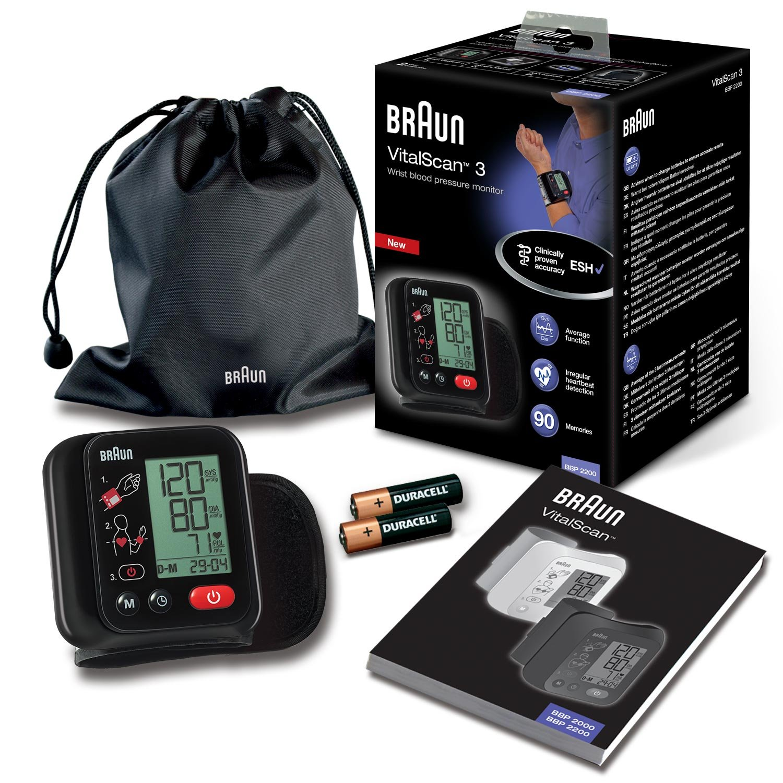 Braun BBP2200 VitalScan 3 - Monitor de tensión arterial muñeca: Amazon.es: Salud y cuidado personal