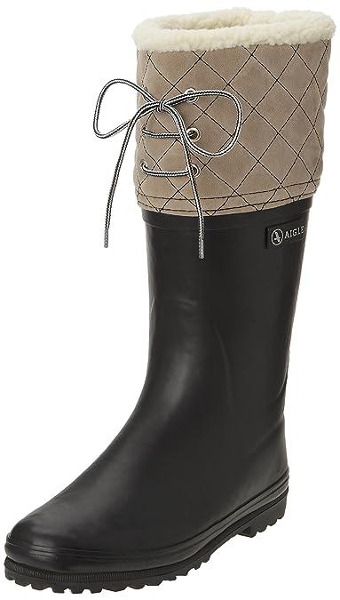 d5c80bf8e61884 Aigle Damen Polka Giboulee Gummistiefel  Amazon.de  Schuhe   Handtaschen