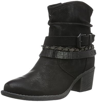 Rieker Damen 98572 Kurzschaft Stiefel: : Schuhe