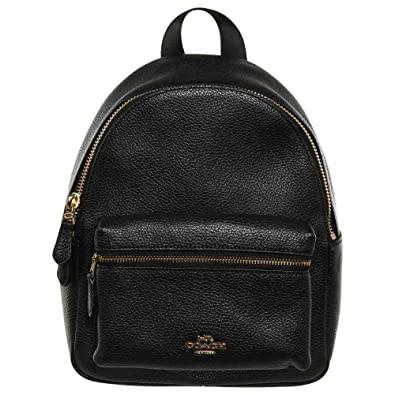 latest sale hot product shop best sellers Amazon.com: Coach Charlie Pebble Small Leather Backpack ...