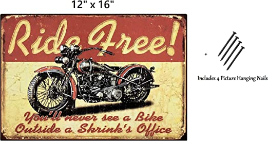 INDIAN WORLDS FASTEST MOTORCYCLE  METAL TIN SIGN POSTER WALL PLAQUE