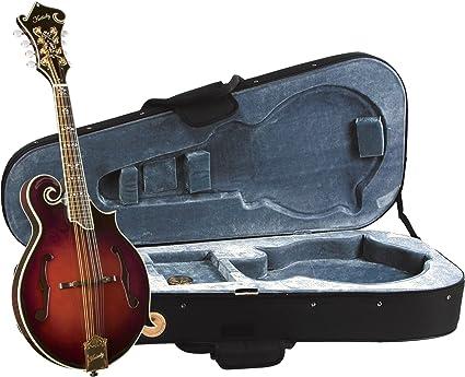 Kentucky KM-855 - Mandolina (modelo F, con estuche de lujo): Amazon.es: Instrumentos musicales