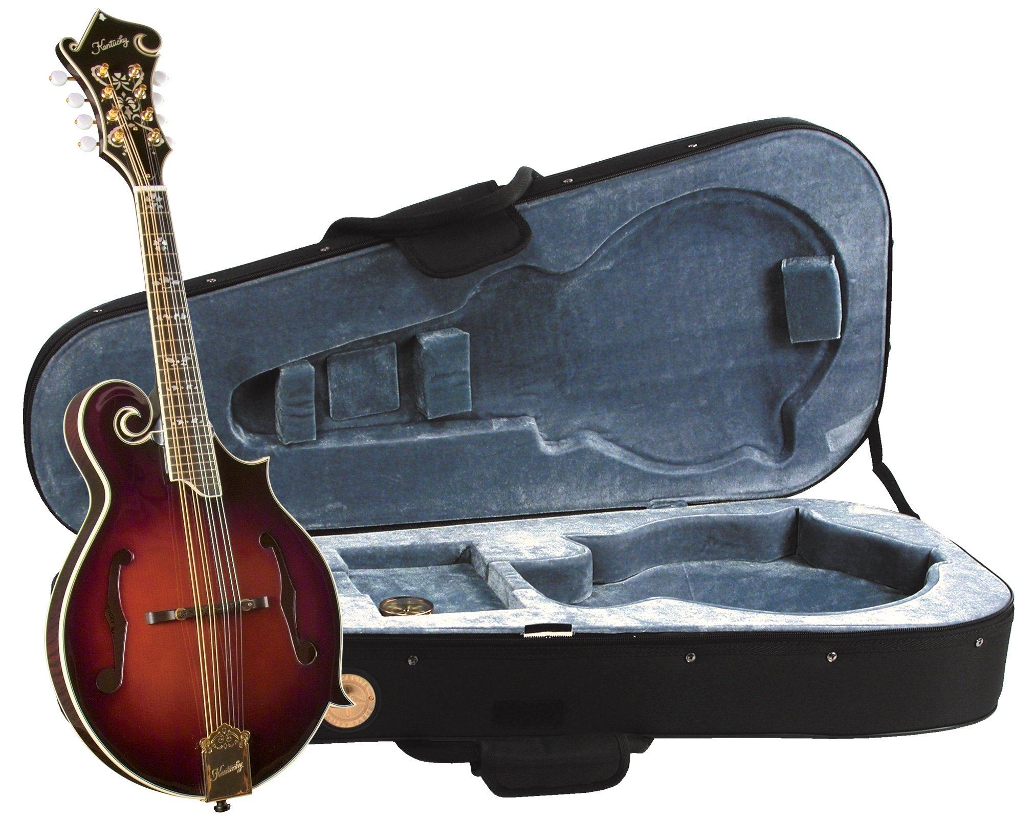 Kentucky KM-855 F-model Mandolin with Deluxe Case
