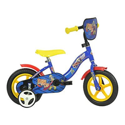 Dino Bikes 108L-SIP 10-Inch Fireman Sam Bicycle : Toys & Games